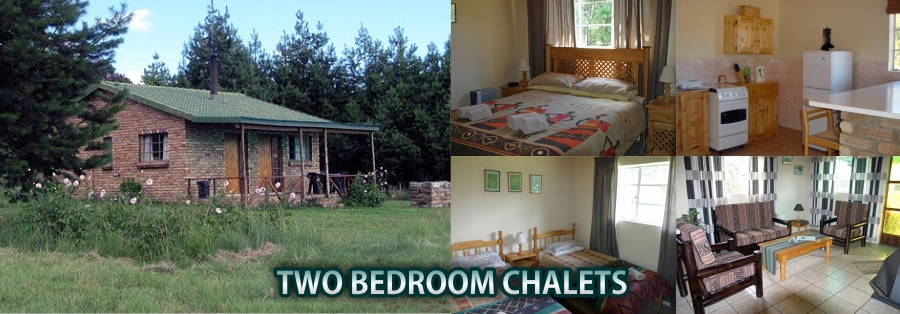 Accommodation in Dullstroom - Two Bedroom Chalets