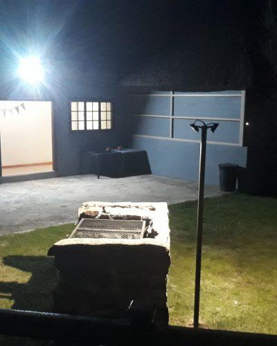 Function area Braai at night