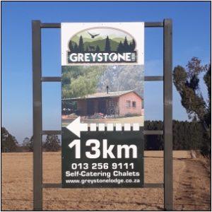 Our signboard cnr of Elandsfontein & R540
