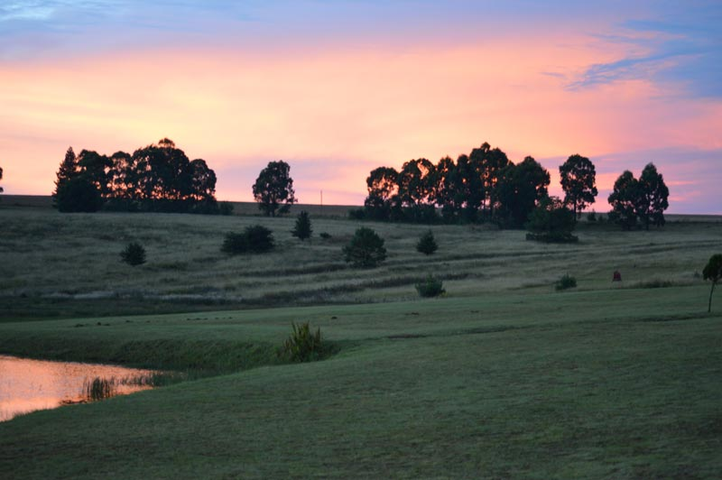 Dullstroom Winter Sunset
