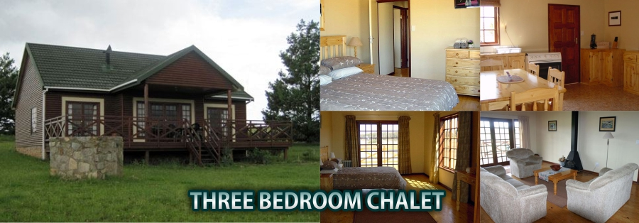 Accommodation in Dullstroom - Three Bedroom Chalet
